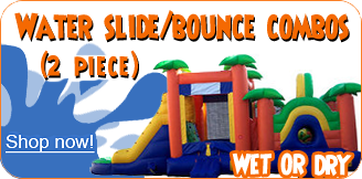 water slide bounce combos 2 piece large