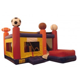 (B) Sports 7N1 Bounce Slide combo (Wet or Dry)