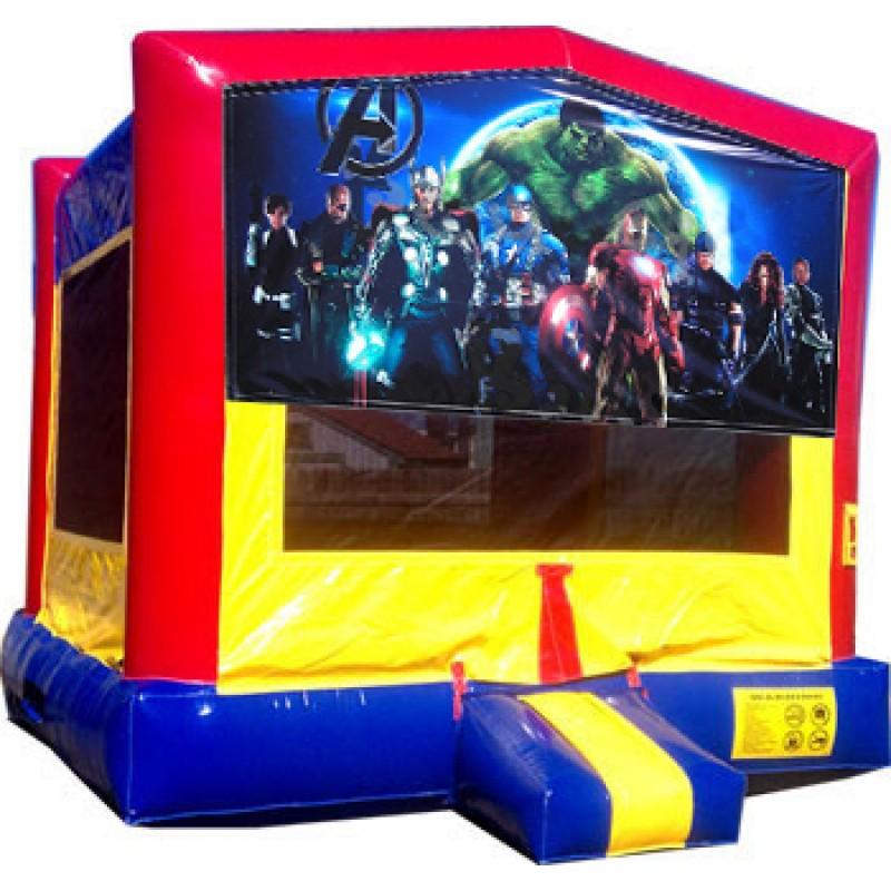 Inflatable Water Slide Rental Kansas City: (C) Avengers Bounce House