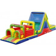 52ft Wet Obstacle Course w/16ft slide