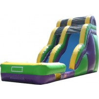 (B) 24ft Wave Dry Slide Rental