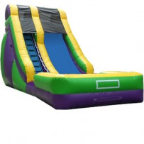 (B) 18ft Dry Slide Rental
