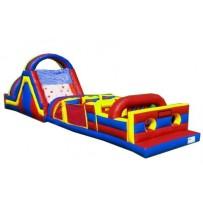 55ft Wet Obstacle Course w/14ft slide