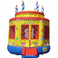 (B) Birthday Cake Bounce House