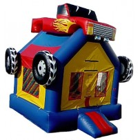 (B) Monster Truck Bounce House
