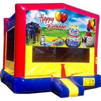 (C) Happy Birthday Bounce House