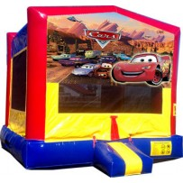 (C) Cars Bounce House