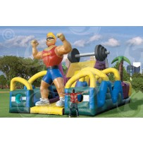 (C) Iron Man Dry Obstacle Course