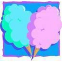 Cotton Candy Cones 50 ct.