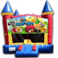 (C) Angry Birds Castle Bounce House