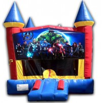 (C) Avengers Castle Bounce House