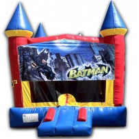 (C) Batman Castle Bounce House