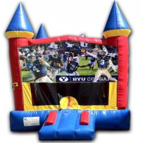 (C) BYU Castle Bounce House