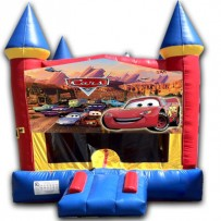(C) Cars Castle Bounce House