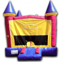 (A1) Modular Castle Girl Bounce House