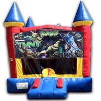 (C) TMNT Teenage Mutant Ninja Turtles Castle Bounce House