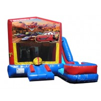 (C) Cars 7N1 Bounce Slide combo (Wet or Dry)