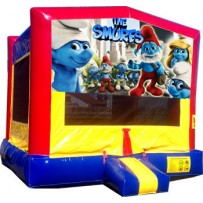 (C) Smurfs Bounce House