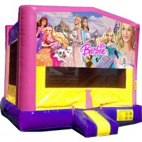 (C) Barbie Bounce House