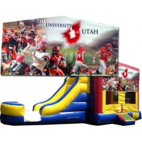 (C) University of Utah (Utes) Bounce Slide combo (Wet or Dry)