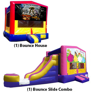 Bounce House budget saver and Bounce Combo package