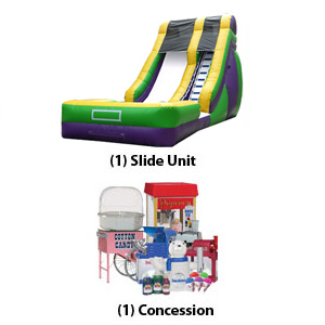 Water Slide and Concession package - Water Blast